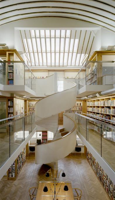 4 Abbeyleix Library - Staircase