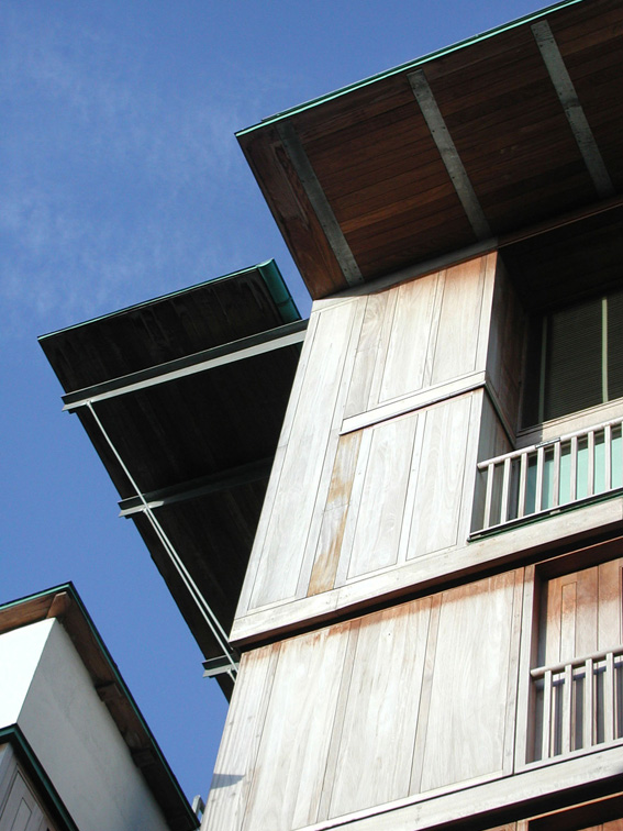 4 Wooden Building - Front