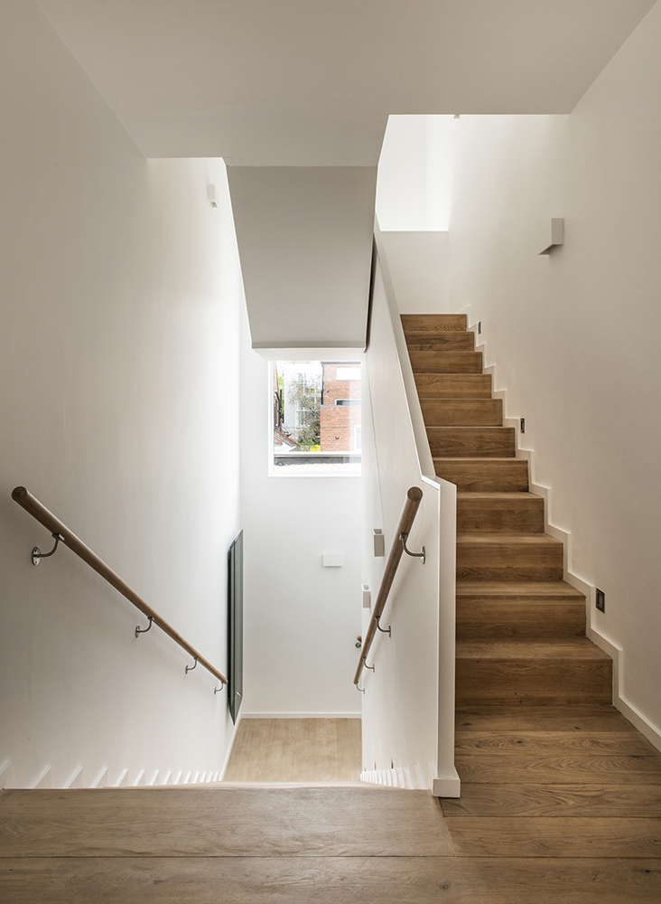 5 Morehampton Lane - Stairs