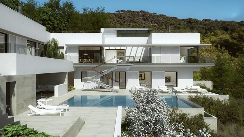 1 Cap Martinet, Ibiza - Front