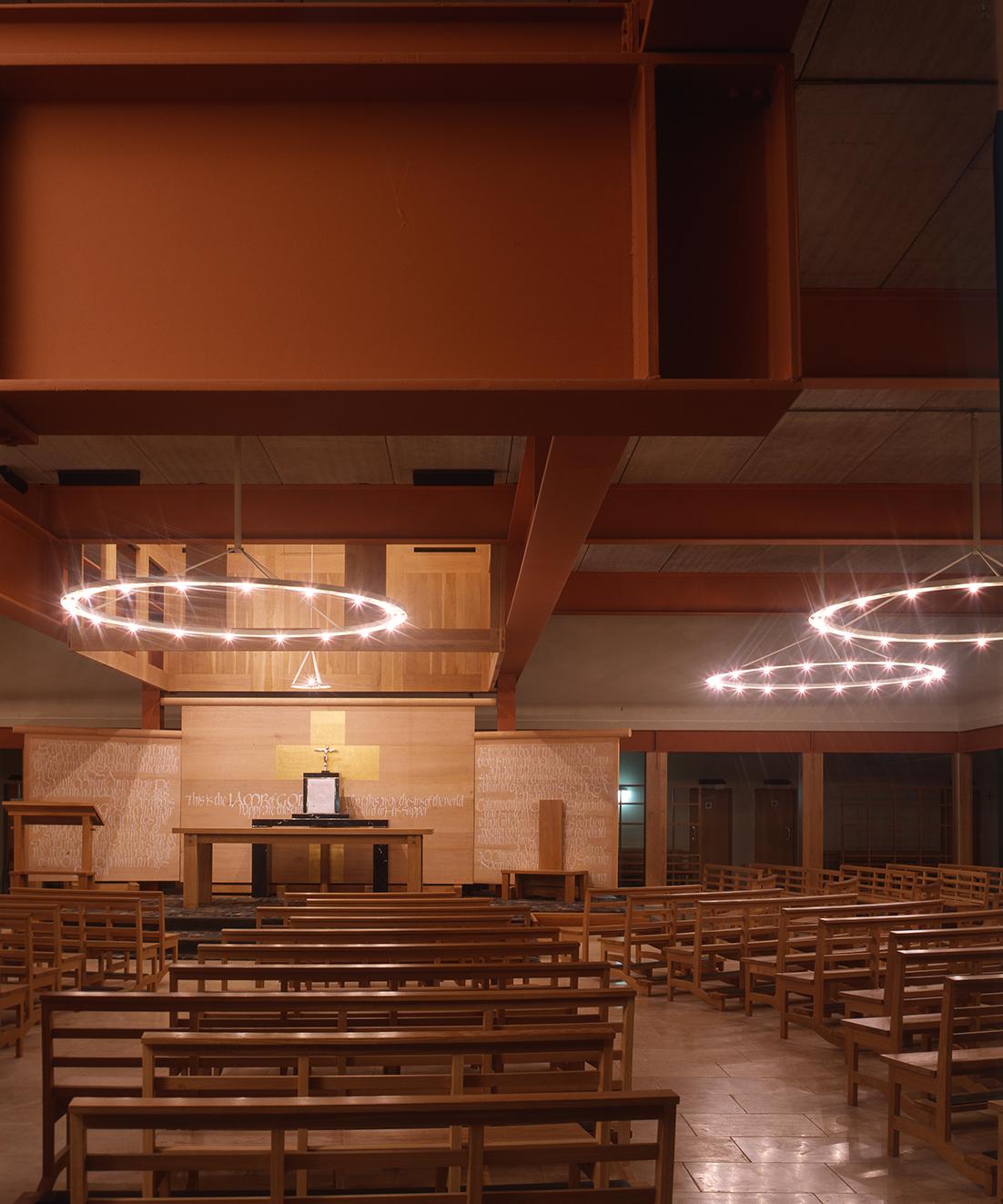 1 Chapel fo Reconciliation, Knock - Interior