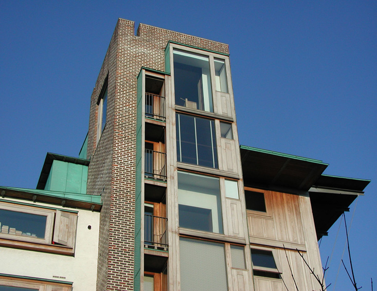 1 Wooden Building - Front