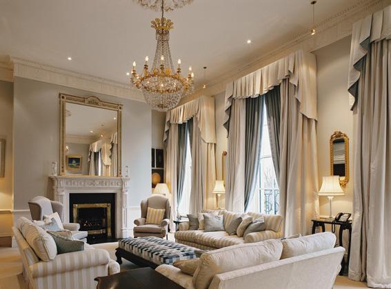 4 Merrion Square - Living Room