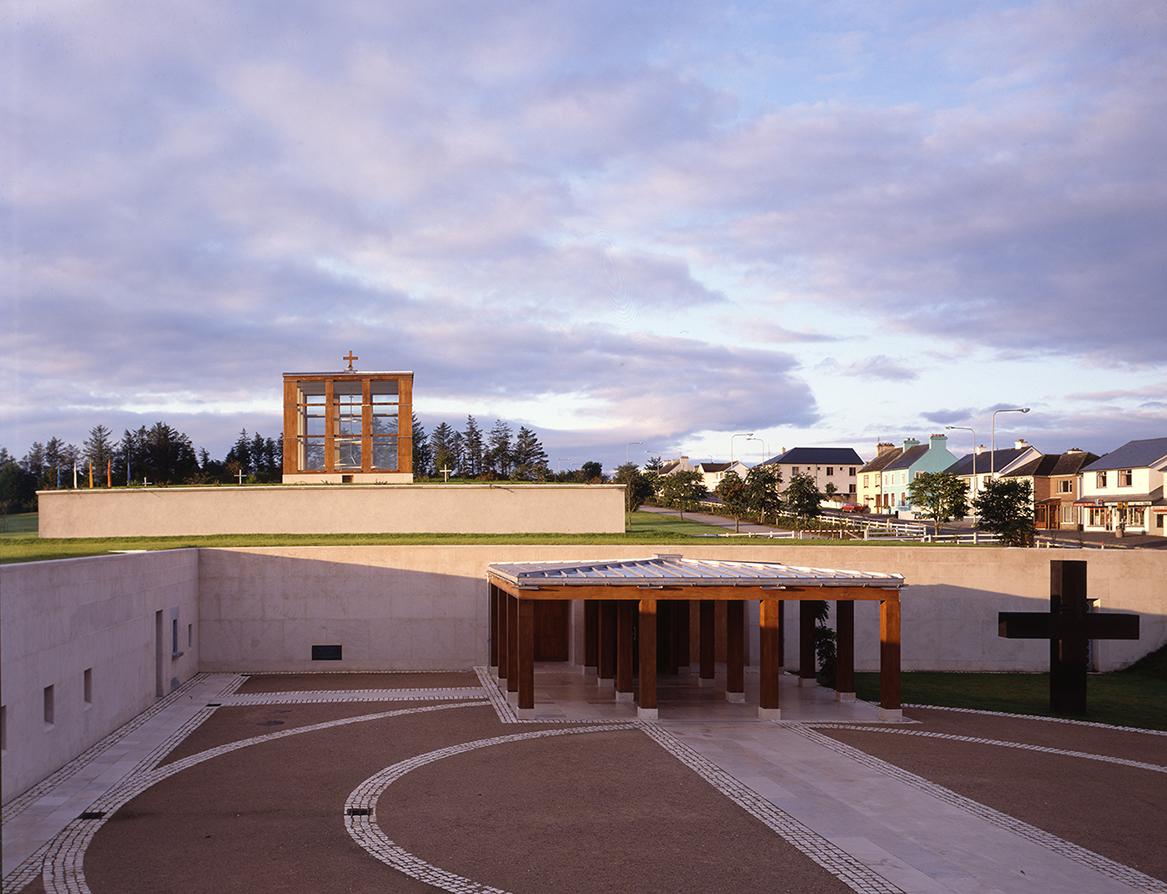 6 Chapel fo Reconciliation, Knock - Front