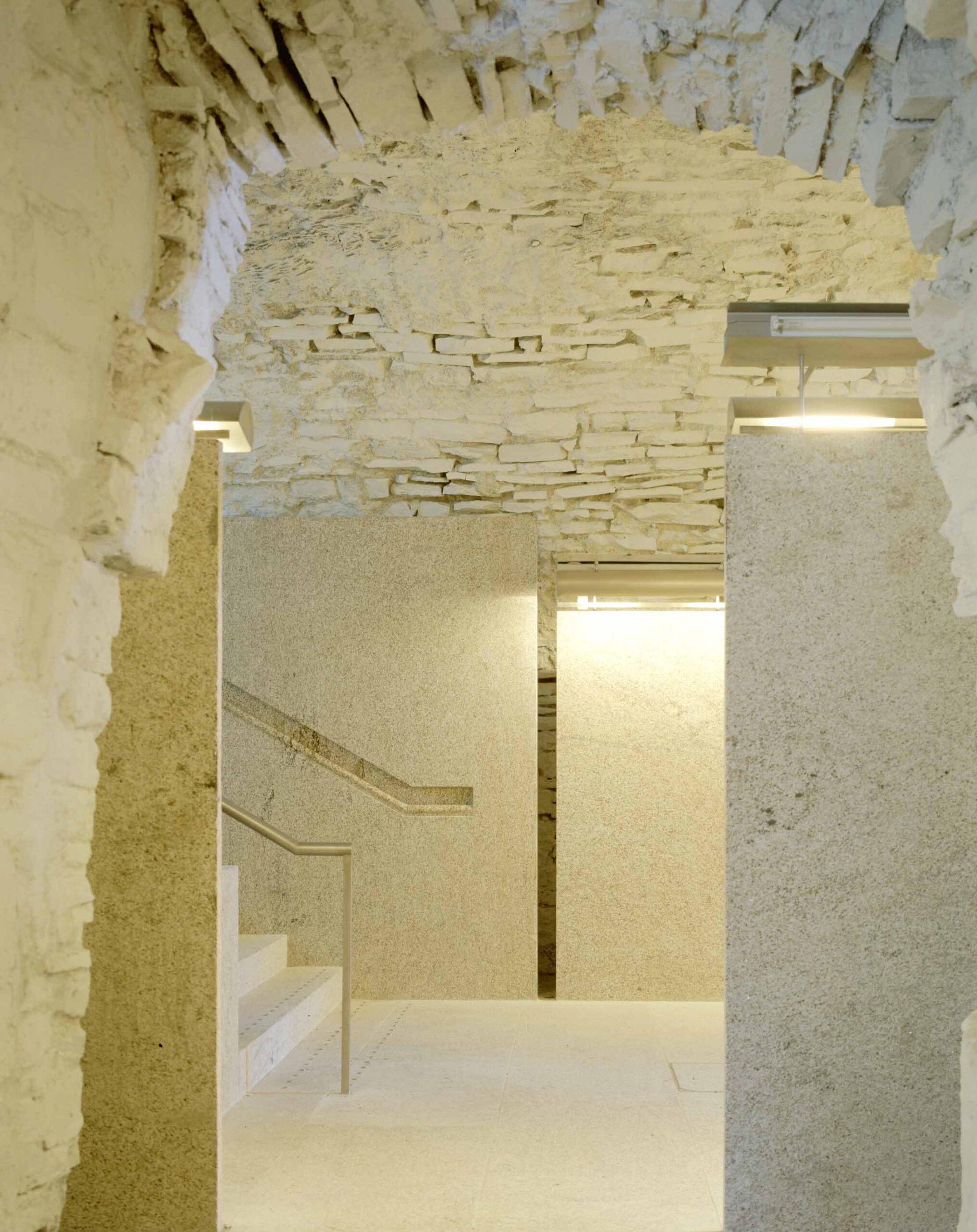 Maynooth Castle Interior