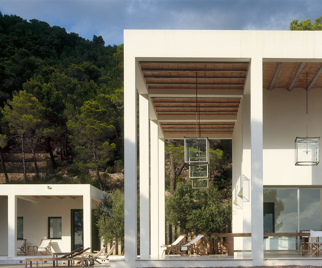 6 Morna Valley, Ibiza - Side View