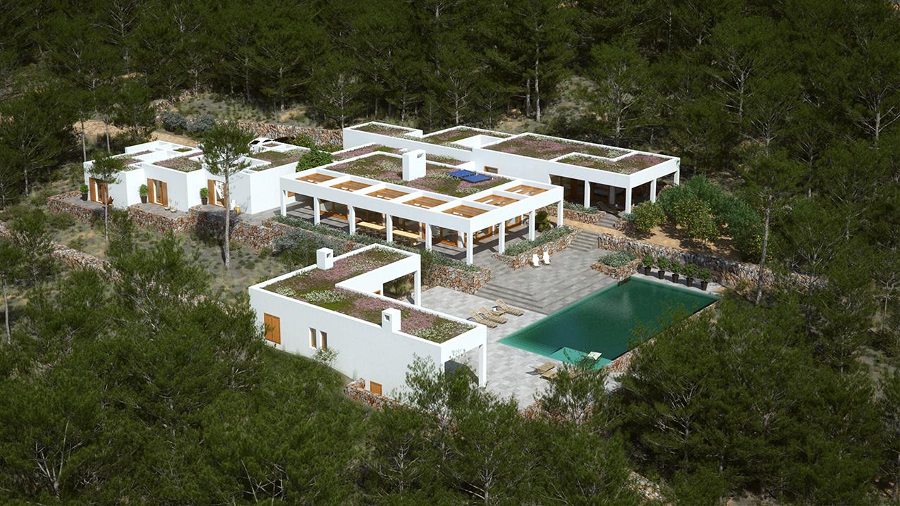 6 Sa Rota de Can Sergent, Ibiza - Aerial View